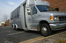 san diego limo party bus rental service