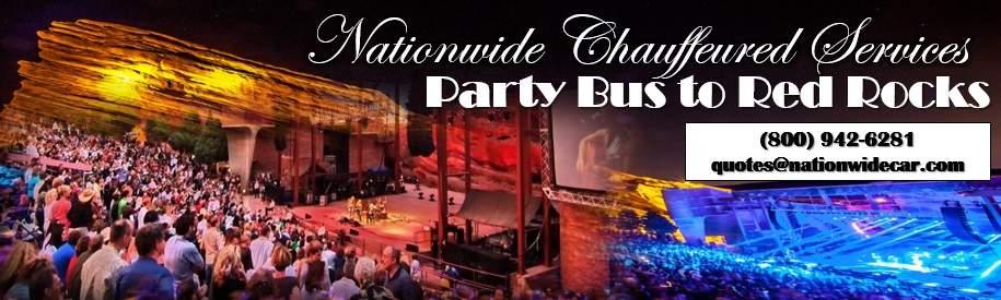 Concert Party Bus Denver