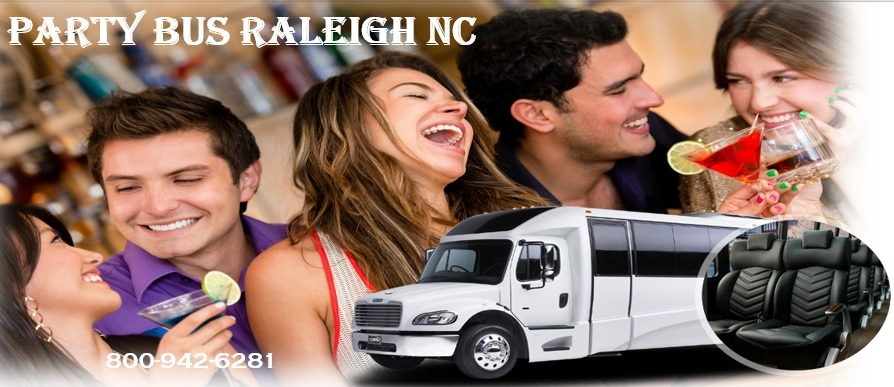 Raleigh Party Bus