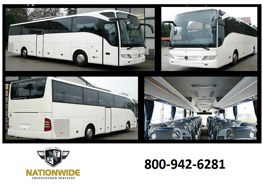 Fairfax VA Charter Bus Rental