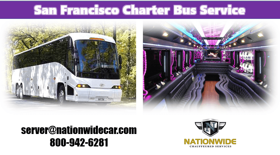 Charter Bus San Francisco CA