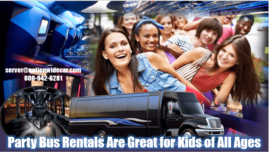 Party Bus for Kids