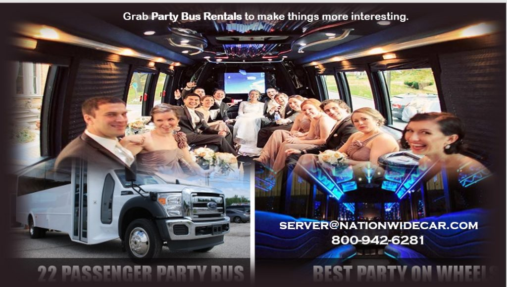 Cheap Party Bus Rentals Near Me