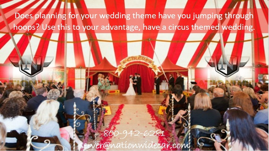 Turning Your Wedding Into a Circus