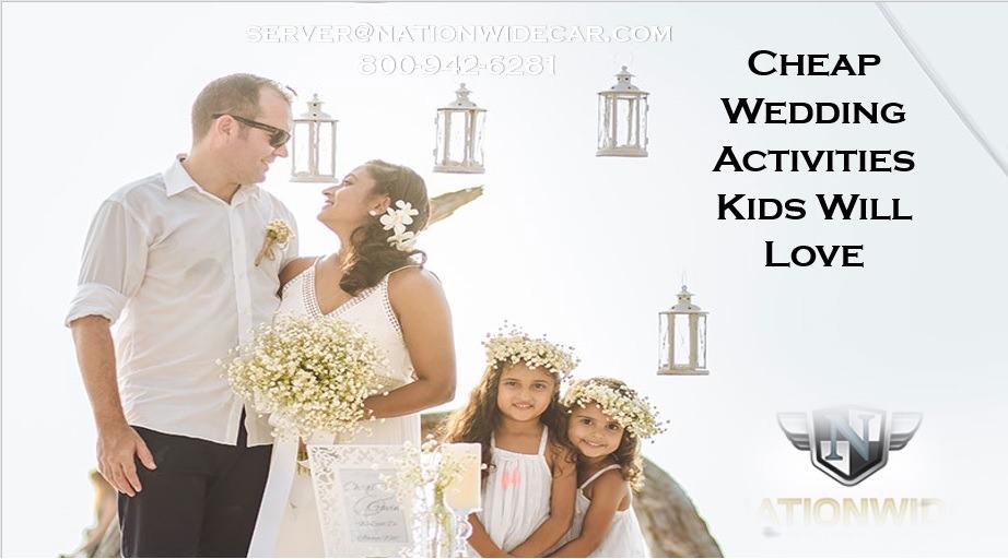 Fun Wedding Activities Kids Will Actually Enjoy