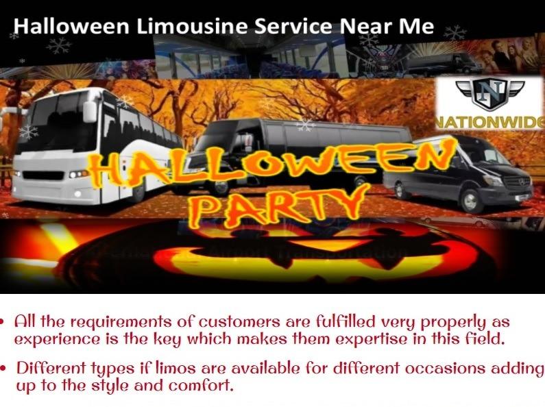 Halloween Limo Service
