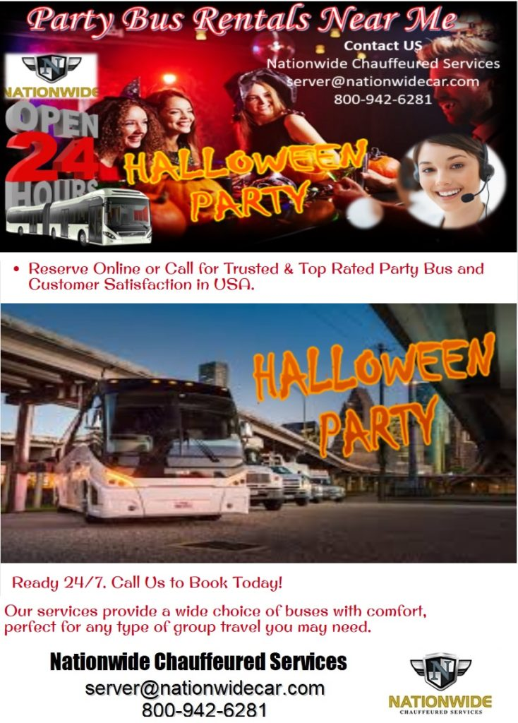 Halloween Party Bus DC