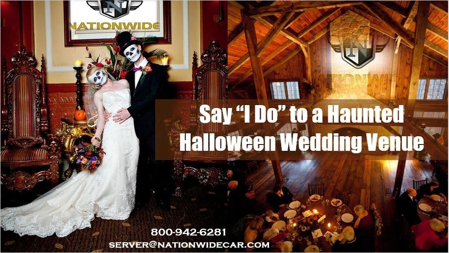 4 Amazing Haunted Halloween Wedding Venues