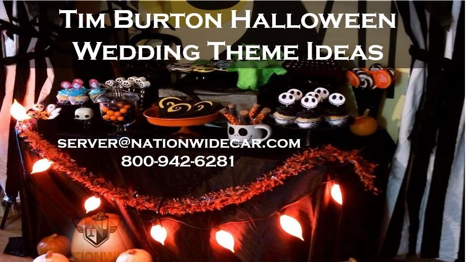 4 Tim Burton Films Perfect for Halloween Wedding Themes