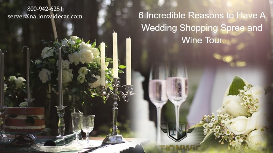 6 Amazing ideas for a Wedding Wine and Shopping Gift