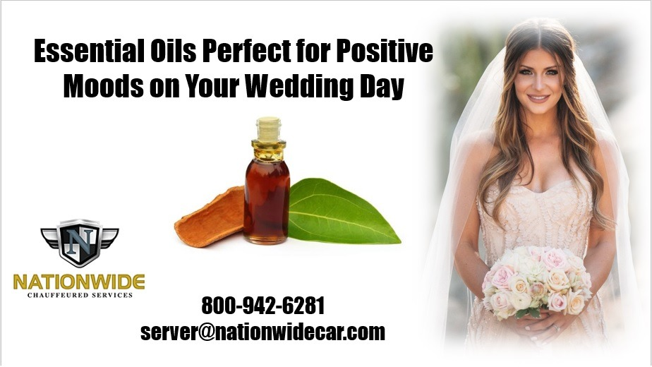 What Essential Oils to Use for High Spirits on Your Wedding Day