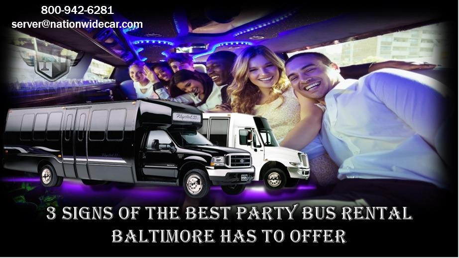 party bus rental Baltimore