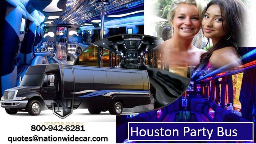 Houston Party Buses