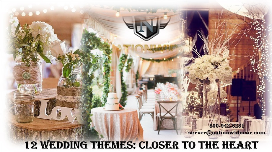 12 Highly Tranquil Wedding Themes You'll Love