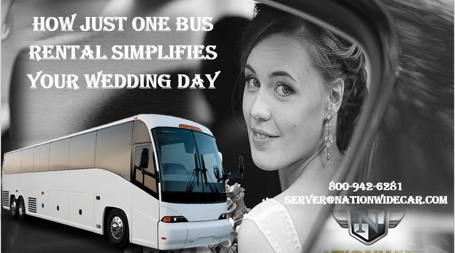 4 Great Reasons Why You Should Rent a Wedding Bus