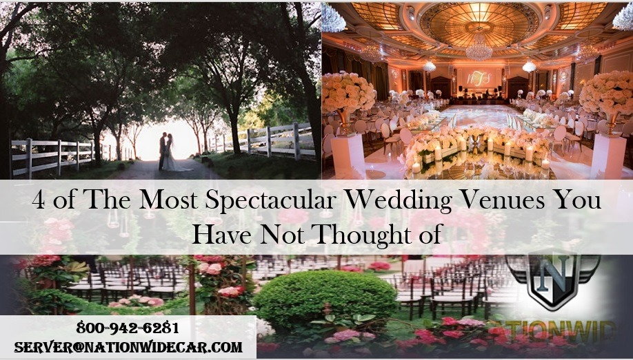 4 Amazing Wedding Locations You Have to See to Believe