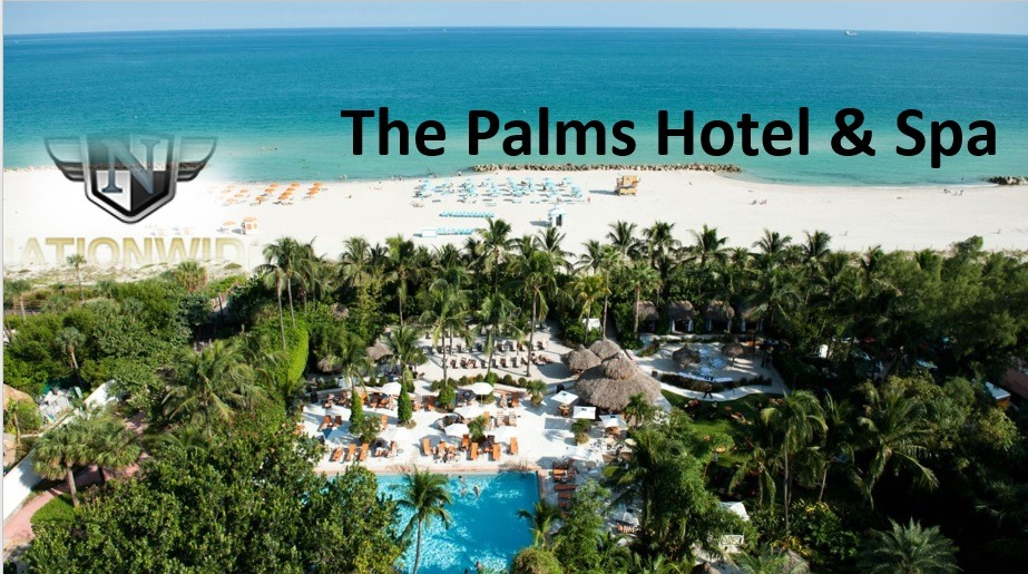 First on the list is The Palms Hotel & Spa