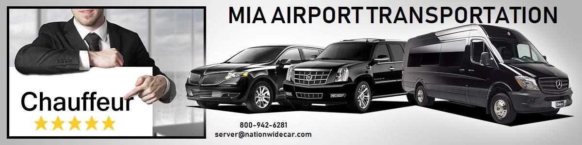 Miami MIA Airport Shuttle Service