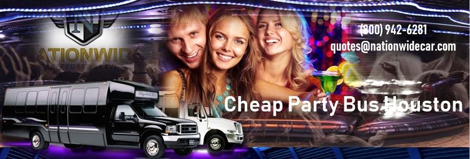 Houston Party Bus Rentals