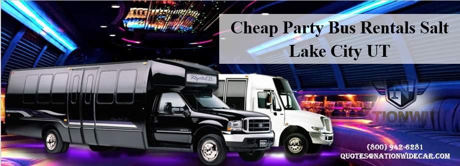 Party Bus Rentals Salt Lake City UT
