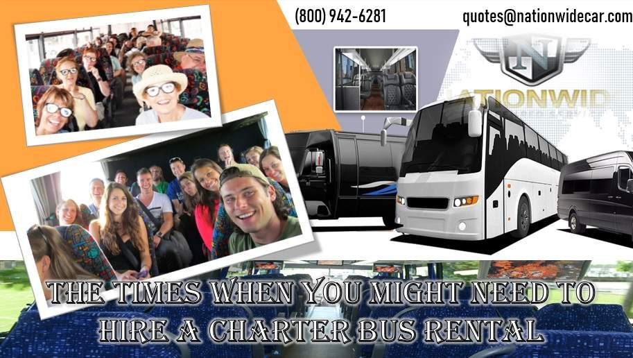 Cheap Charter Bus Rental