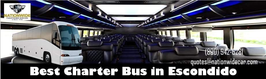 Escondido Charter Bus Rental Service