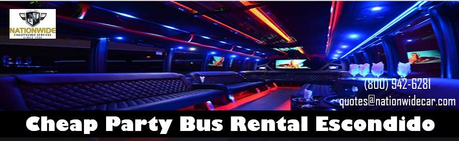Best Party Bus Rentals in Escondido