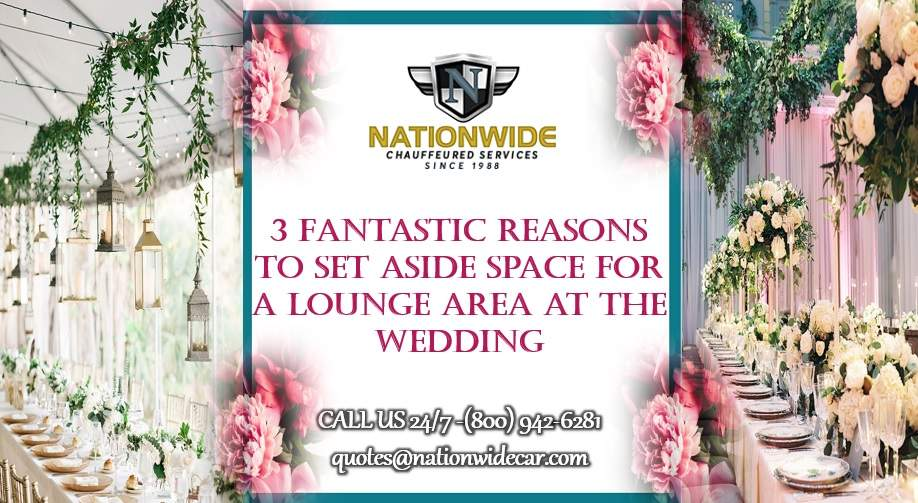 3 Great Ways to Use a Lounge Area During Your Wedding