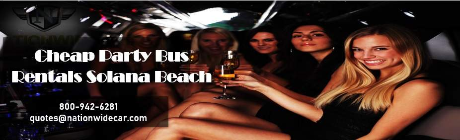 Solana Beach Charter Bus Rental