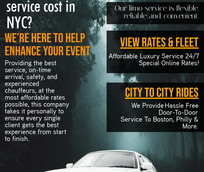 How Much Does A Car Service Cost NYC