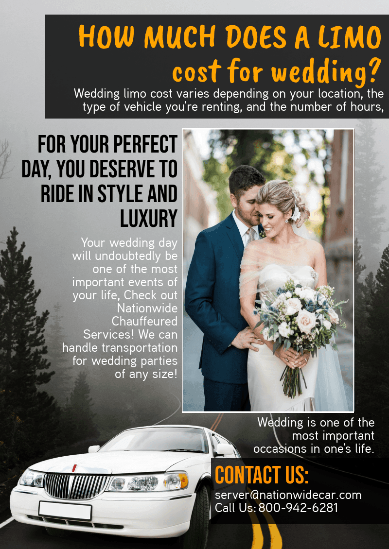 Limo Cost For Wedding