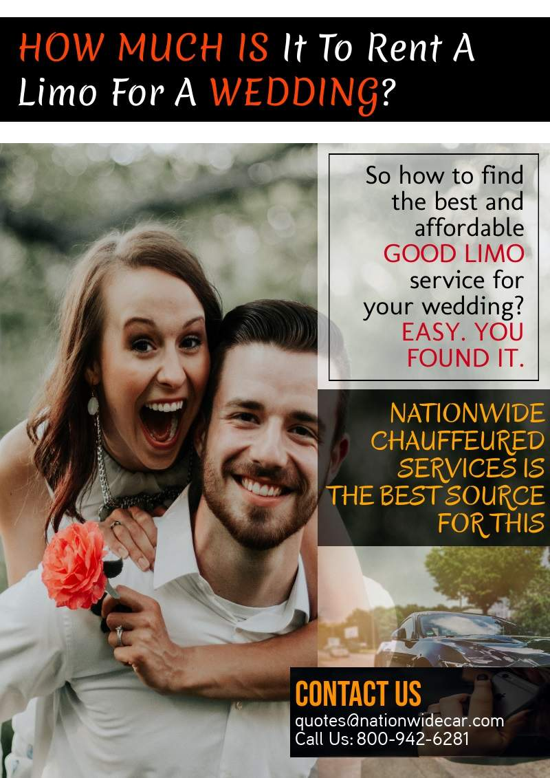 How Much Is It To Rent A Limousine For A Wedding