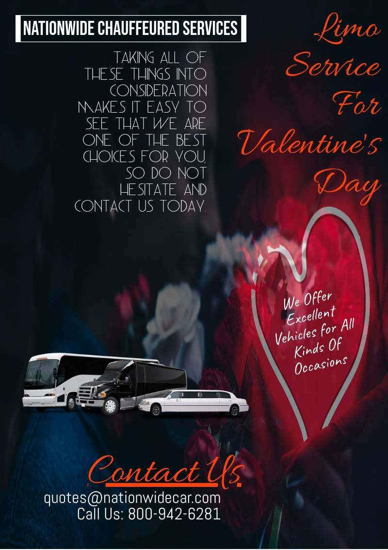 Limo Services For Valentine's Day