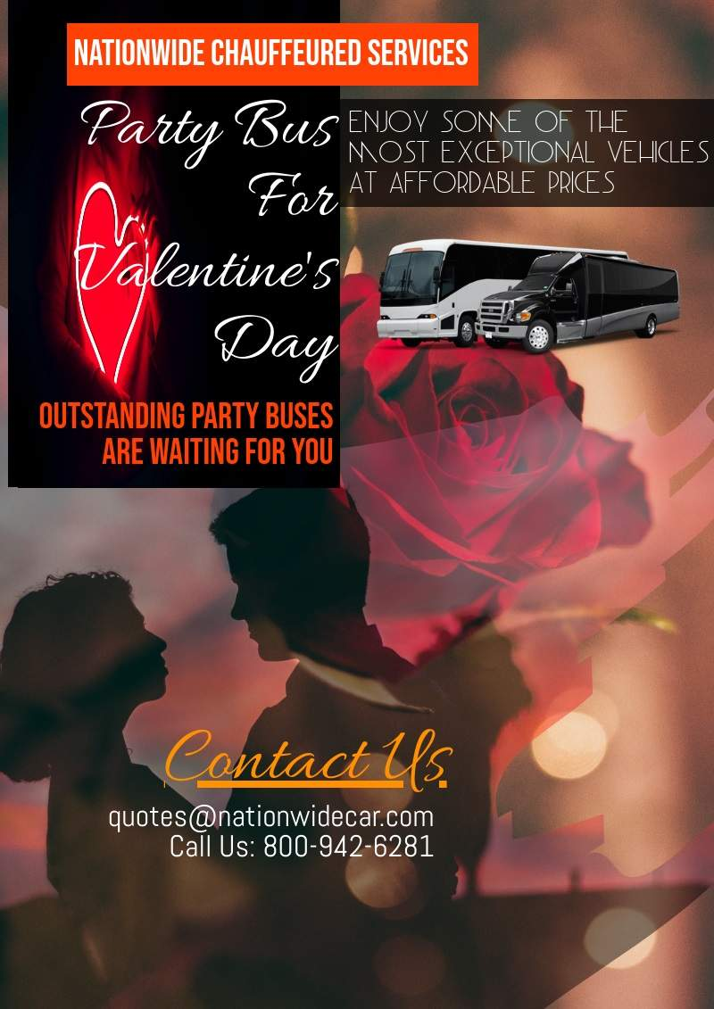 Best Party Buses For Valentine's Day