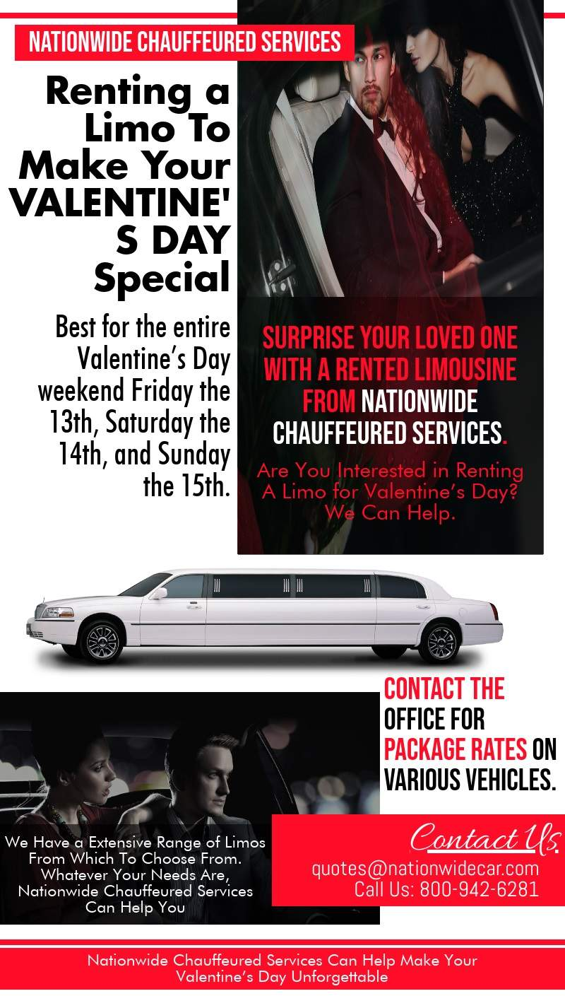 Renting Limos To Make Your Valentine's Day Special
