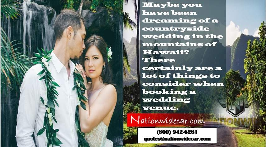 mountains in Hawaii for wedding