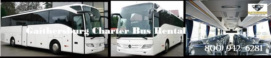 Gaithersburg Charter Bus Rentals