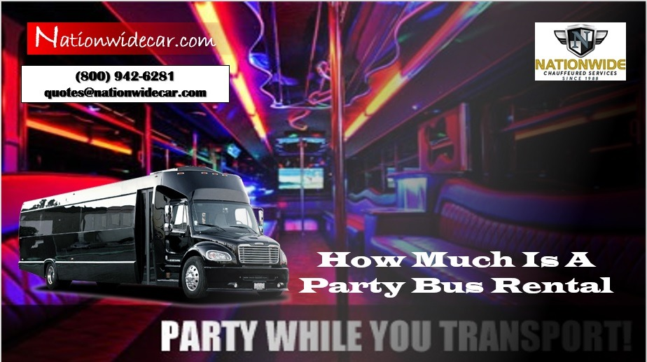 How Much Is A Party Bus Rentals
