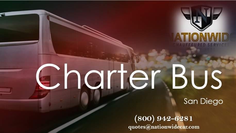 San Diego Charter Bus Rental