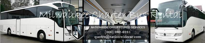 Charter Bus Rentals in Milwaukee