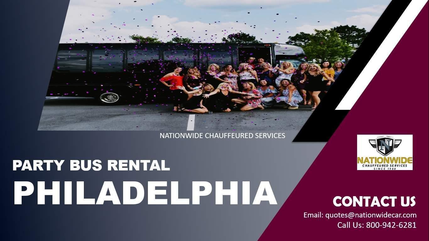 Cheap Party Bus Rental Philadelphia