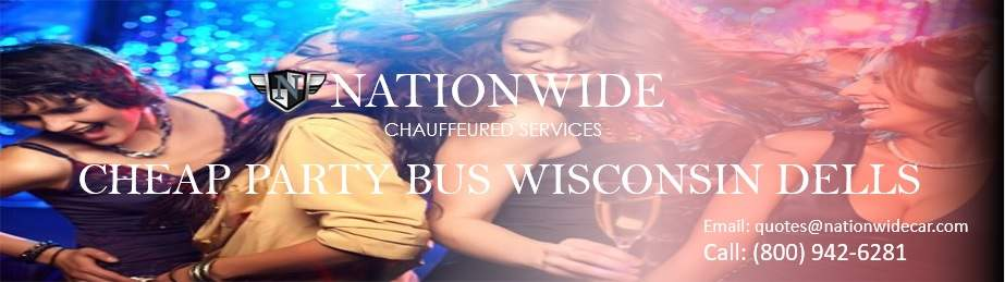 Cheap Party Bus Rental Wisconsin Dells