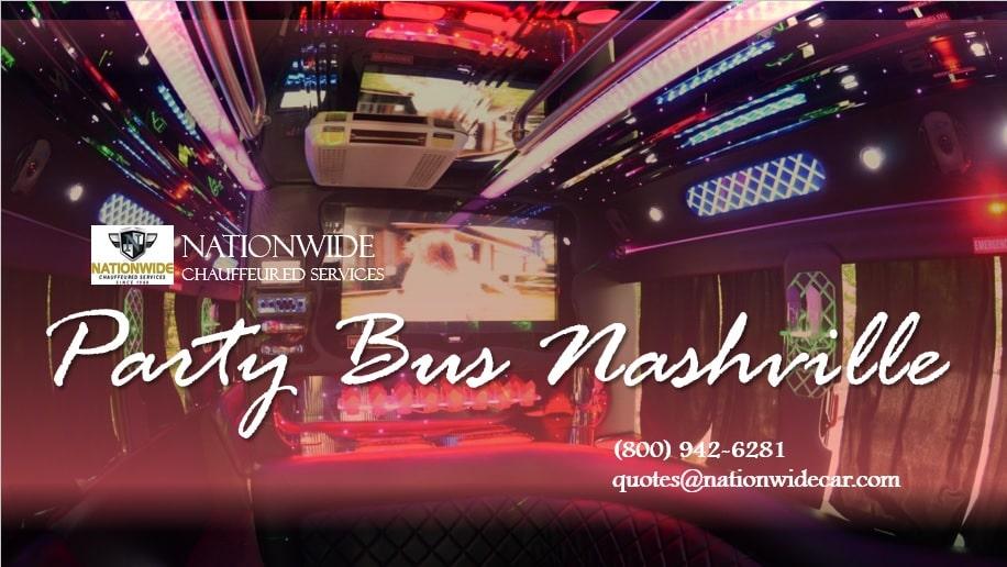 Party Bus Rental Nashville