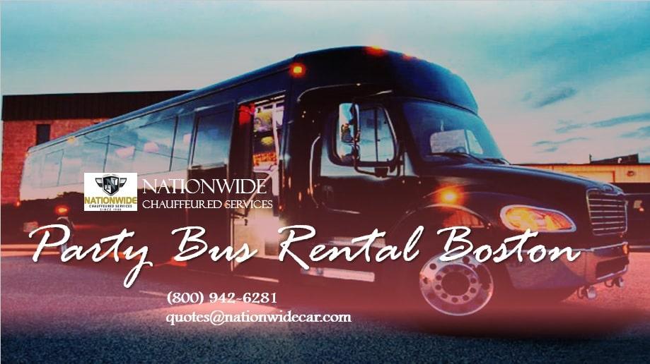Party Bus Rentals Boston