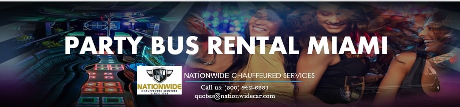 Miami Party Bus Rentals