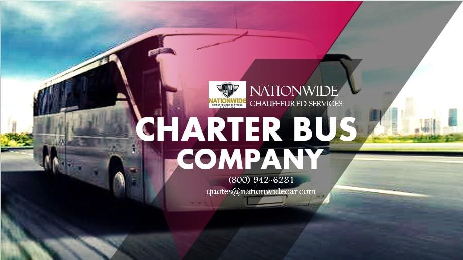 Charter Bus Rental Company