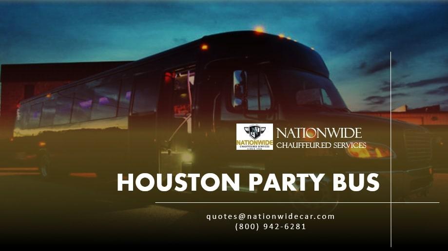 Houston Party Bus Rental