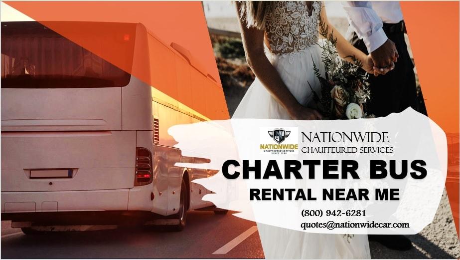 Charter Bus Rental - Tropical Getaway Wedding