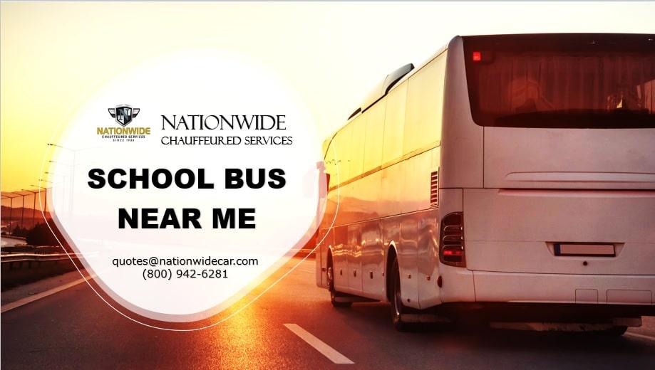School Bus Rental Near Me