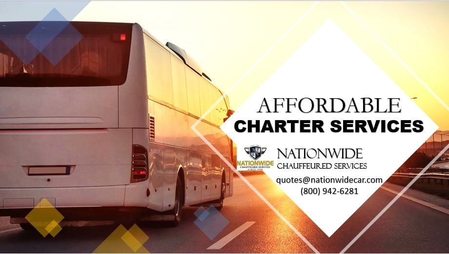 Affordable Charter Buses - Picturesque Wedding